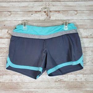 Lululemon Running Shorts Athletic Blue